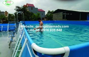 Có nên đầu tư bể bơi lắp ghép để dạy bơi cho trẻ