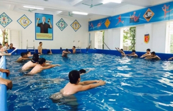 Bể bơi thông minh, KT: 9.6m x 29.1m x 1.2m