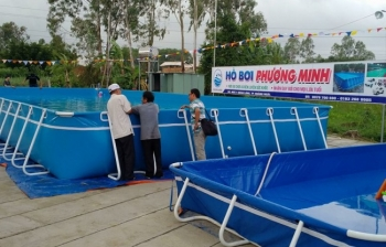 Bể bơi thông minh, KT: 12.6m x 24.6m x 1.2m
