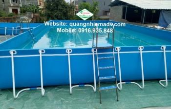 Bể bơi di động, KT: 8.1m x 20.1m x 1.2m