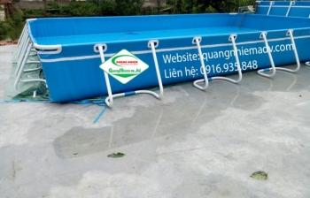Bể bơi lắp ghép KT 8.1m x 21.6m