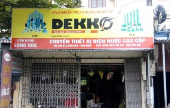 Thi công lắp đặt biển quảng cáo – Hãng ống nhựa DEKKO