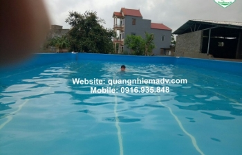 Bể bơi thông minh, KT: 9.6m  x29.1m x 1.2m