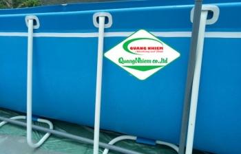 Bể bơi di động, KT: 8.1m x 18.6m x 1.2m